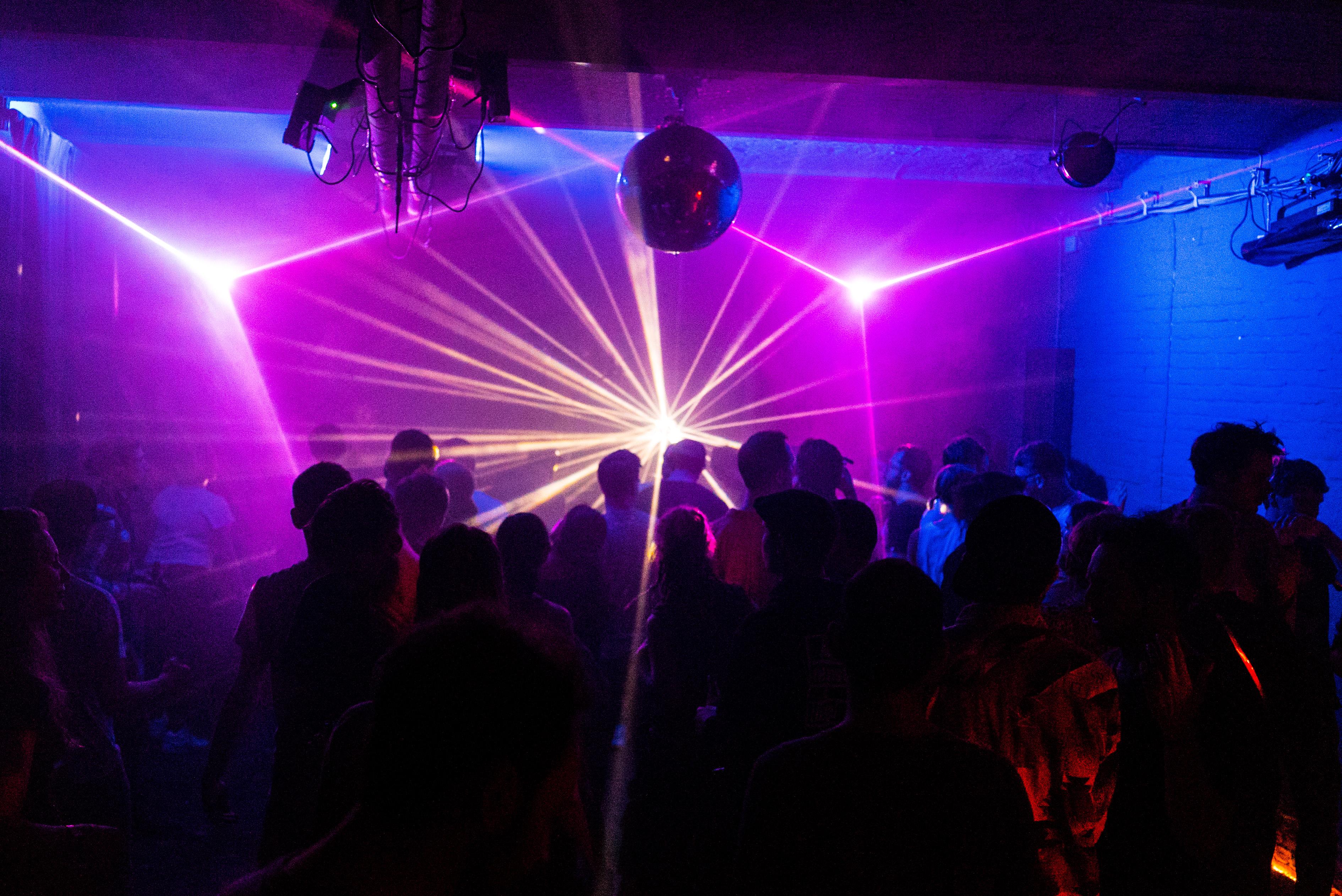 Licht im Club